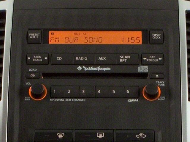 nissan xterra 2010 audio system